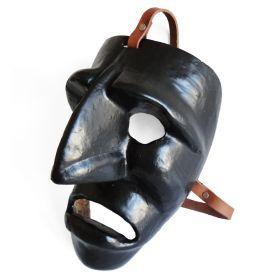 "Mask ""Mamuthones"" 01 Traditional mask of the Mamoiada Carnival (Barbagia, central Sardinia). Made by hand. #madeinitaly #artigianato #mask #maschera"