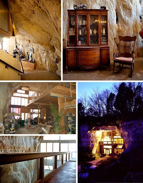 Cave Home59 best Underground images on Pinterest   Caves  Underground homes  . Underground Cave Home. Home Design Ideas