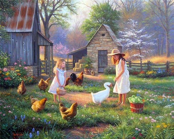 MARK KEATHLEY...feeding the chooks and collecting the eggs...do you like eggs??  I LOVE them!!