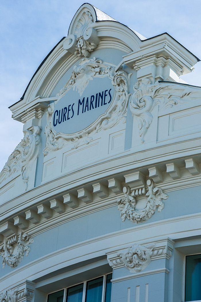 Les Cures marines à Trouville