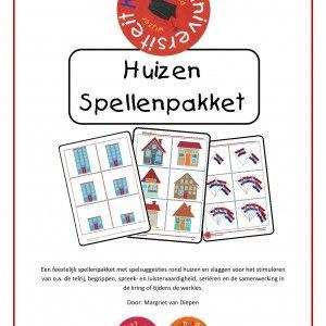 Een prachtig spellenpakket bestaande uit maar liefst 93 pagina's ter stimulering van diverse leerdoelen. Aan de hand van huisnummers en vlag...