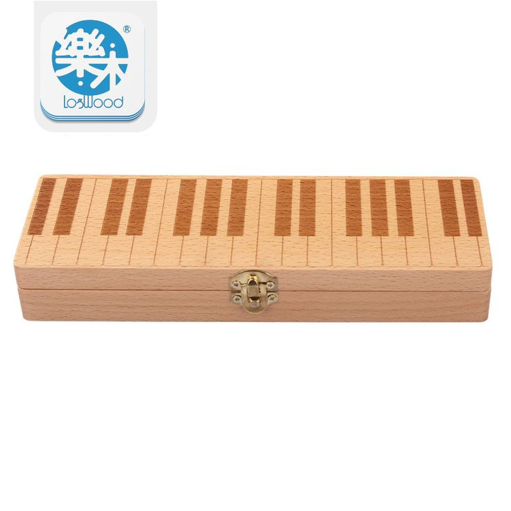 Baby Tooth Box Organizer for baby save Milk teeth Wood storage box piano style gifts for 3-6YEARS creative for kids