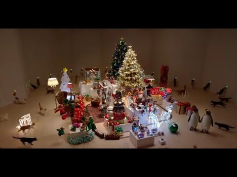 Temptations Christmas Commercial 2016 - Keep them busy - cats kitten kitty - YouTube