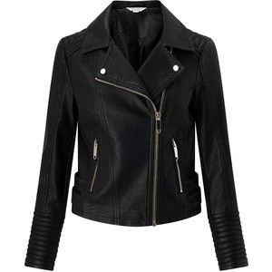Miss Selfridge PETITE PU Biker Jacket