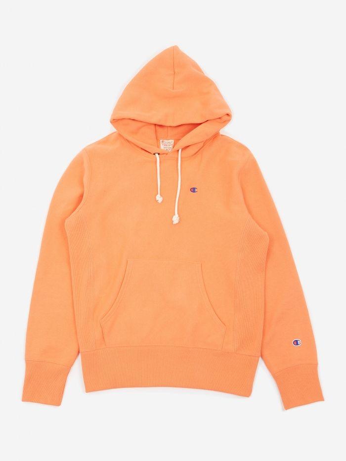 2c55f2b1569a Champion Reverse Weave Hooded Sweatshirt - Coral (Image 1)