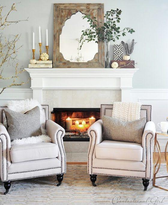 51 Best Mantel Decorating Images On Pinterest