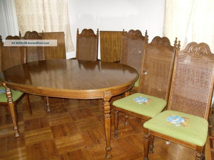 Vintage 1950 dining set post 1950 photo dining room for Photo dining room