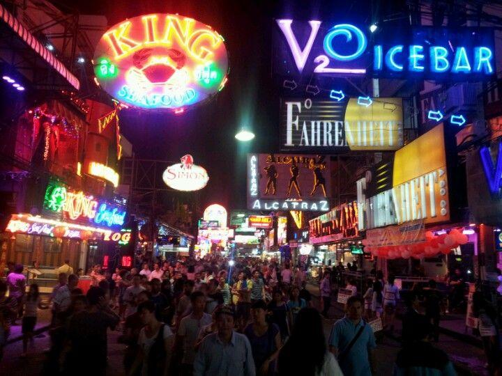 Pattaya Walking Street i บางละมุง, ชลบุรี