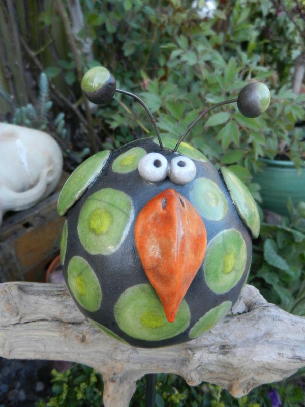 Bildergebnis Fur Keramik Garten Kugel Keramik Vogel Keramik Eule Bastelarbeiten