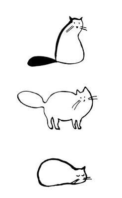 Cat drawings//