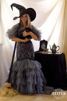 DIY Tutorial DIY Witch Costumes / DIY Homemade Witch Costume - Bead&Cord