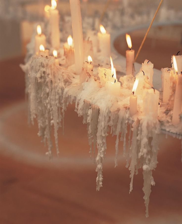 nakedwitches:    gallowhill:    Aspire (detail), 1999 by Anya Gallaccio    Nudes Candles Crystals Nature…