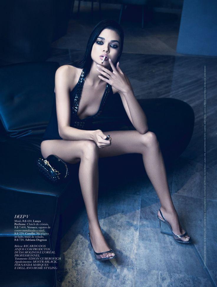 Daniela Braga for Harper's Bazaar Brazil by Yossi Michaeli