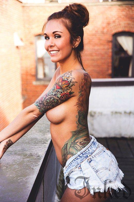 Amanda black sexy tattooed russian milf 9