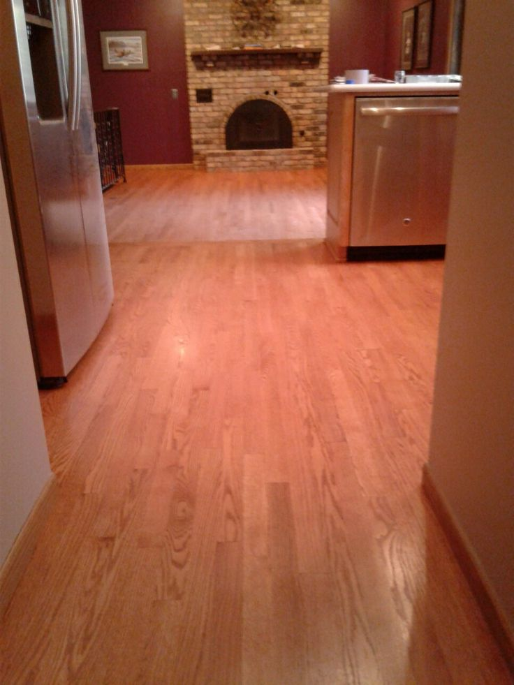 Duraseal Colonial Maple Stain On Water Popped Red Oak