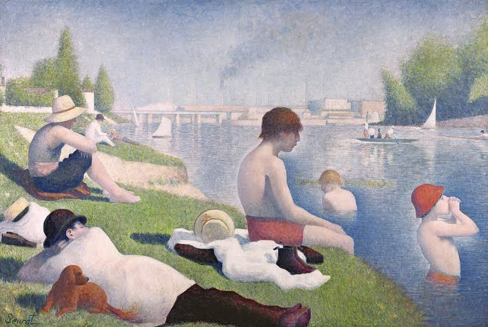 Bathers at Asnieres | Georges Seurat         Art of the Day | Magazine | Artfinder