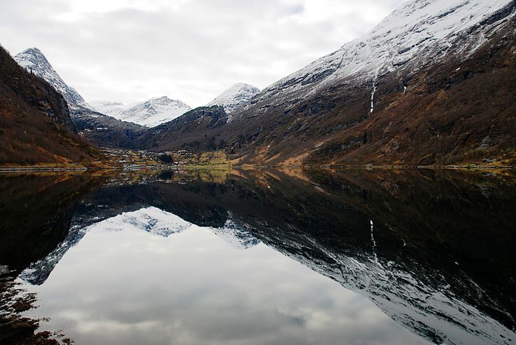 https://flic.kr/p/GHk5KU | Reflections#2 | Geirangerfjord.  Six months in Norway.