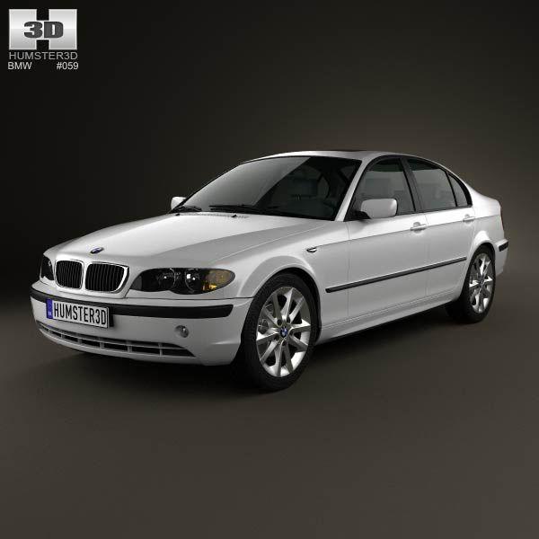 BMW 3 Series Sedan (E46) 2004 3d Model From Humster3d.com