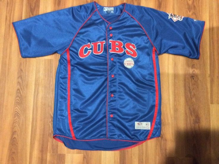 Mens Chicago Cubs Baseball Jersey Shirt -. Size - Large. | eBay!