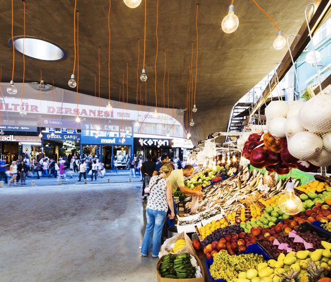 Besiktas Fish Market refurbishment by GAD   urdesign magazine