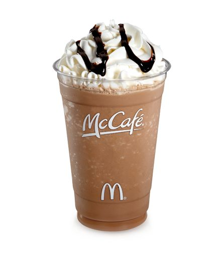 McCafé Frappé Mocha is a good start to the day.