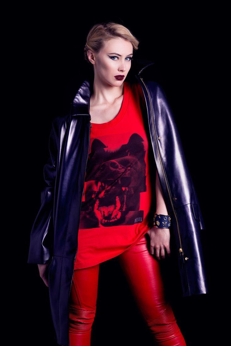 "elserina: "" Sarah Gadon by Caitlin Cronenberg for Real Style 2014 """