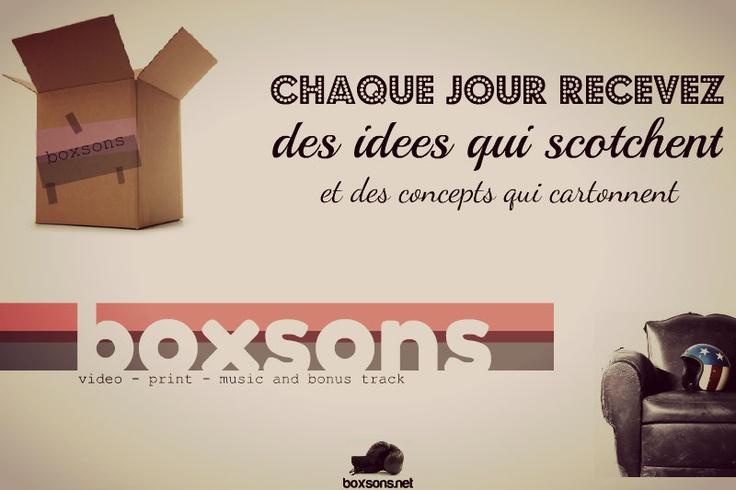 Visuel by Boxsons