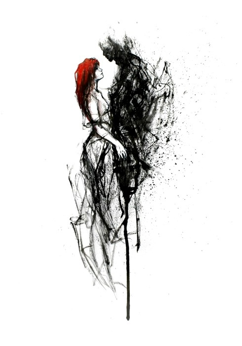 .This makes me think of Persephone and Hades-- either that or Tom Riddle Jr. and Ginny Weasley