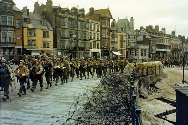 d day pictures in color