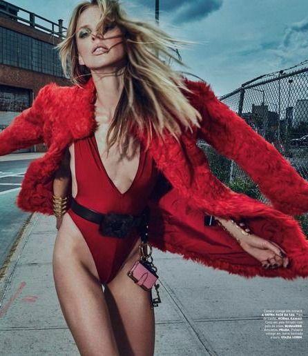 """""""Red Alert!"""" Vogue Portugal 2016"""