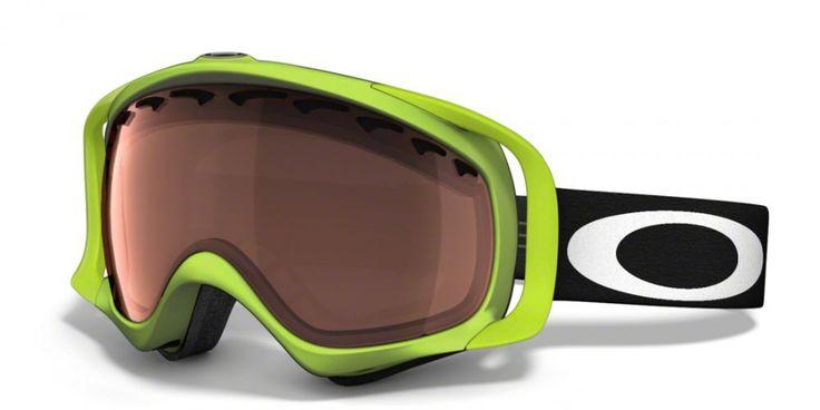 OAKLEY CROWBAR 80'S GREEN síszemüveg. Ütés és karc álló Lexan® lencse biztosítja a tökéletes látást! Merev O Matter™ szíj a sisak nélküli használathoz. KATTINTS IDE!