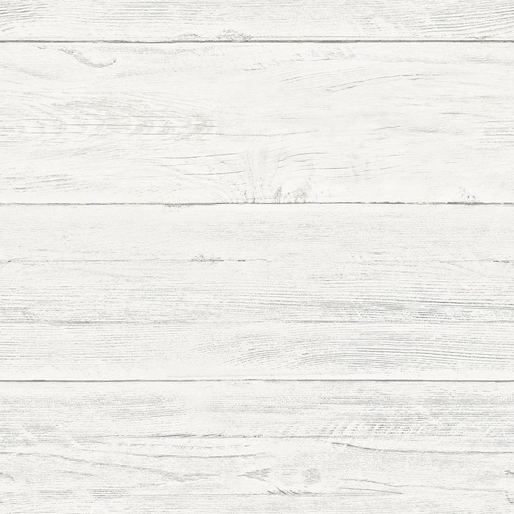 8 in. x 10 in. Shiplap Peel and Stick Wallpaper Sample, White & Off-White