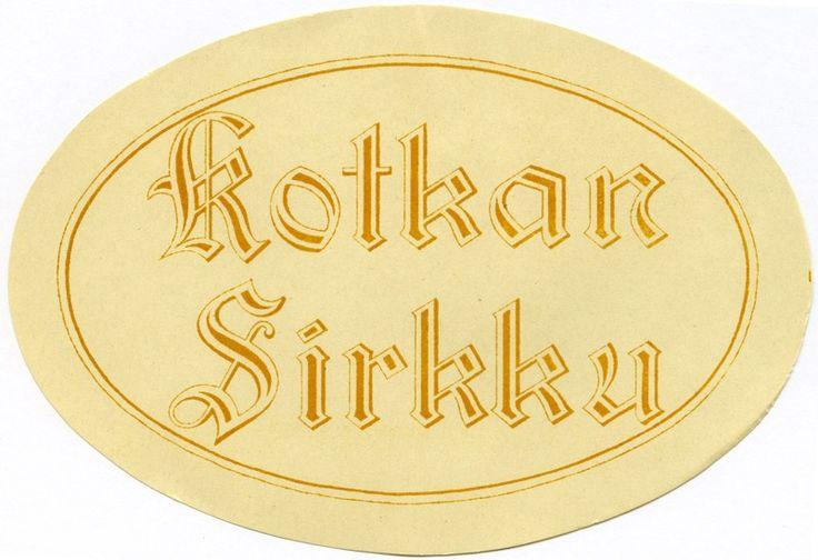 Kotkan Sirkku, #etiketit #label