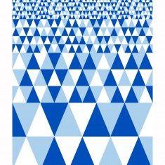 More joy teatowel Horisont blue designed by Tiia Eronen for More joy home collection www.morejoy.fi