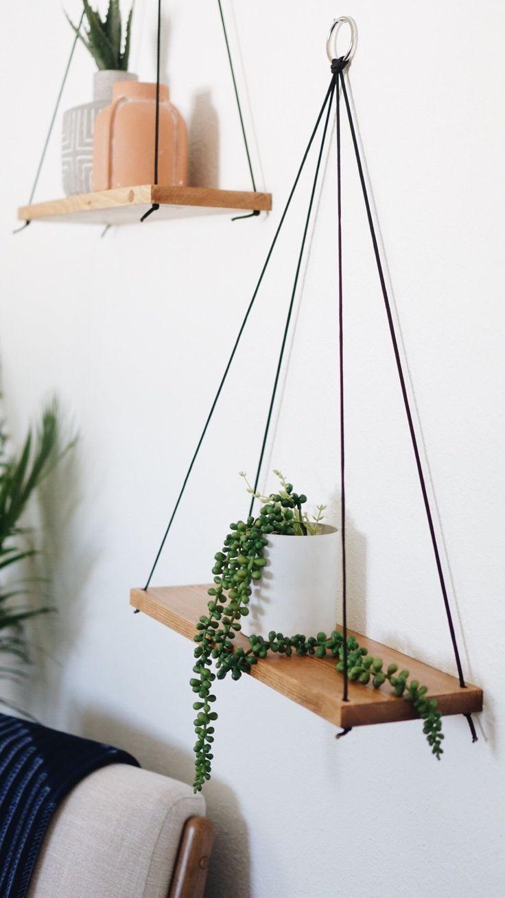 Hanging Shelves / Ensemble de 2 grandes étagères / Étagères flottantes / Étagères Swing