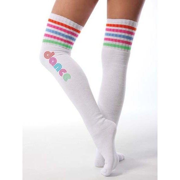 thigh high tube socks for women | Clothing and Shoes > Legwear > Retro Thigh High Tube Socks