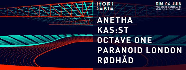 #housemusic HORS SERIE Line Up Revealed: After an incredible first edition at the Paris Saint-Lazare train station, HORS SERIE is moving to…