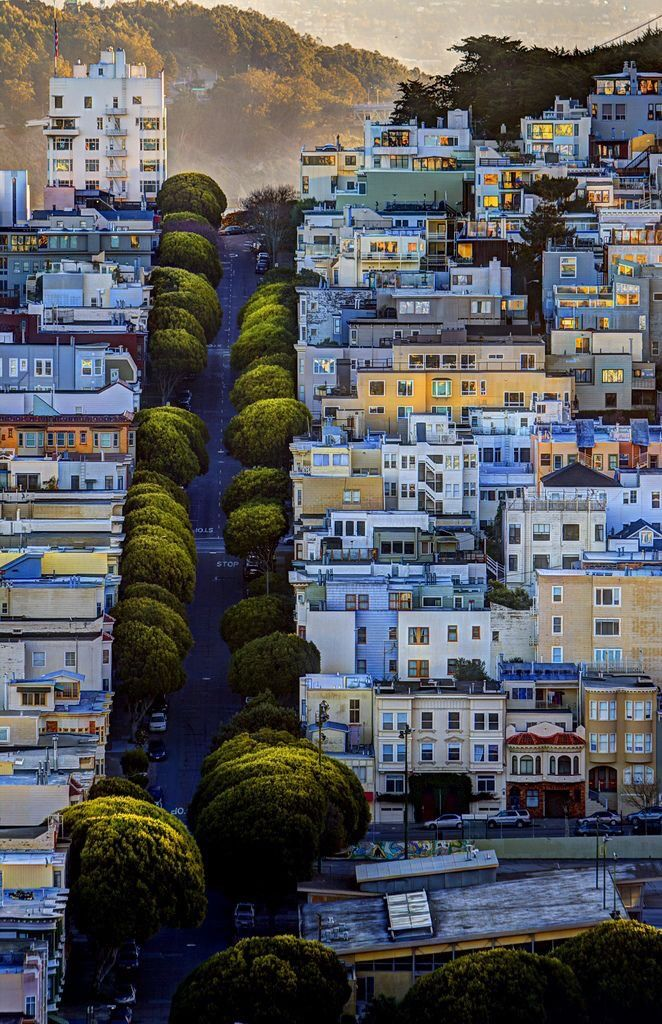 San Francisco Feelings - Sunrise in San Francisco by dred707