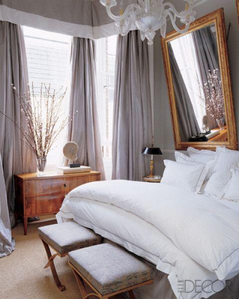 plush and comfy: Mirror, Decor, Interior, Dream, Bedrooms, Master Bedroom, House, Design, Bedroom Ideas