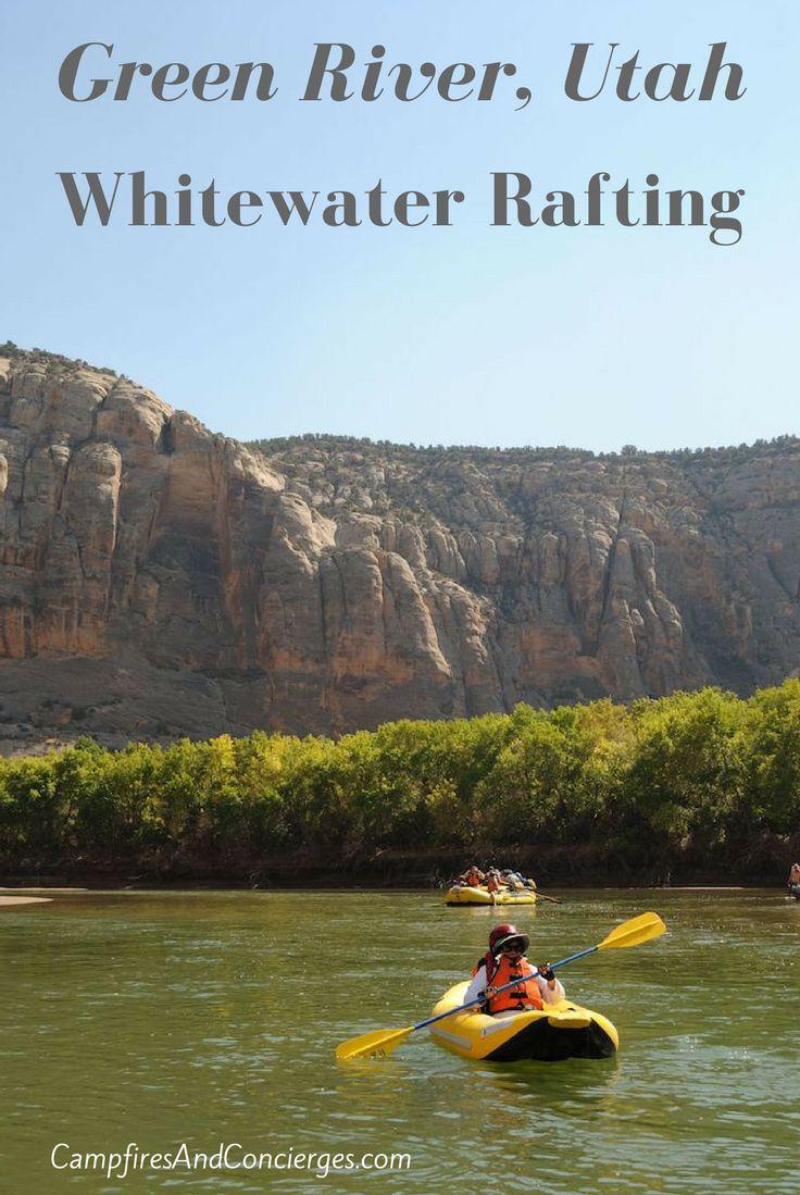 Whitewater rafting trip on the Green River through Dinosaur National Monument, Utah