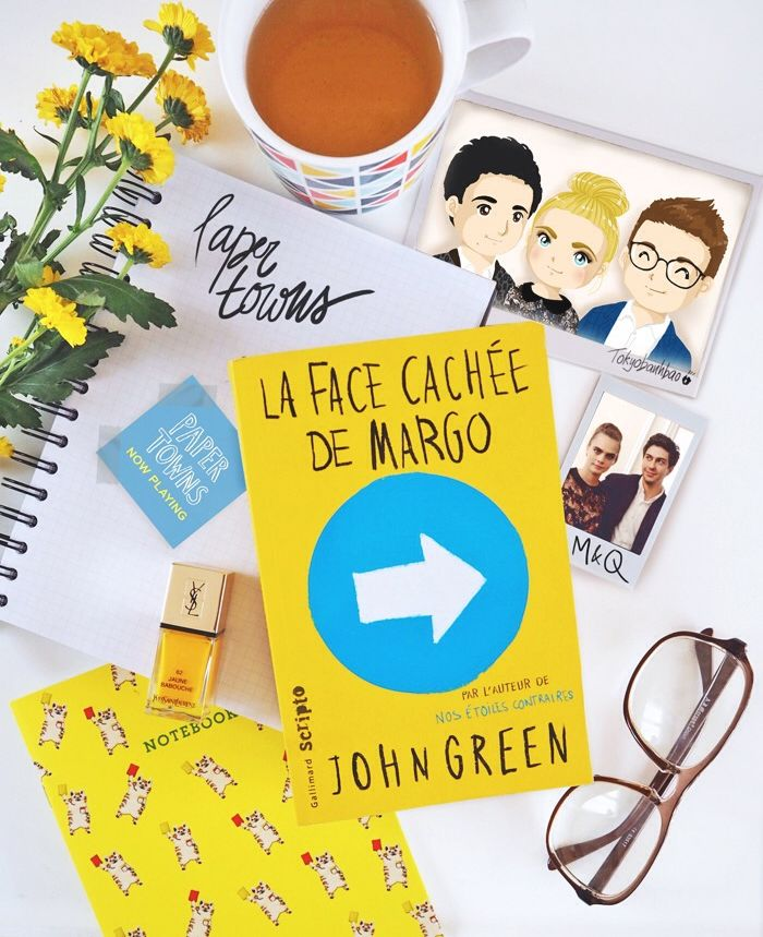 La face cachée de Margo / Paper Towns (feat. Cara Delevingne, John Green, Nat Wolff) by Tokyobanhbao www.tokyobanhbao.com