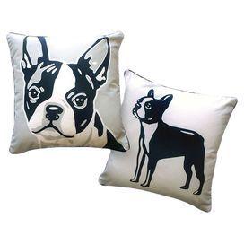 Bostonian Pillow