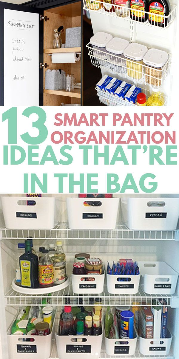 How To Organize Pantry Categories