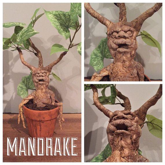 MTO Harry Potter Mandrake Plant por BrickArts en Etsy