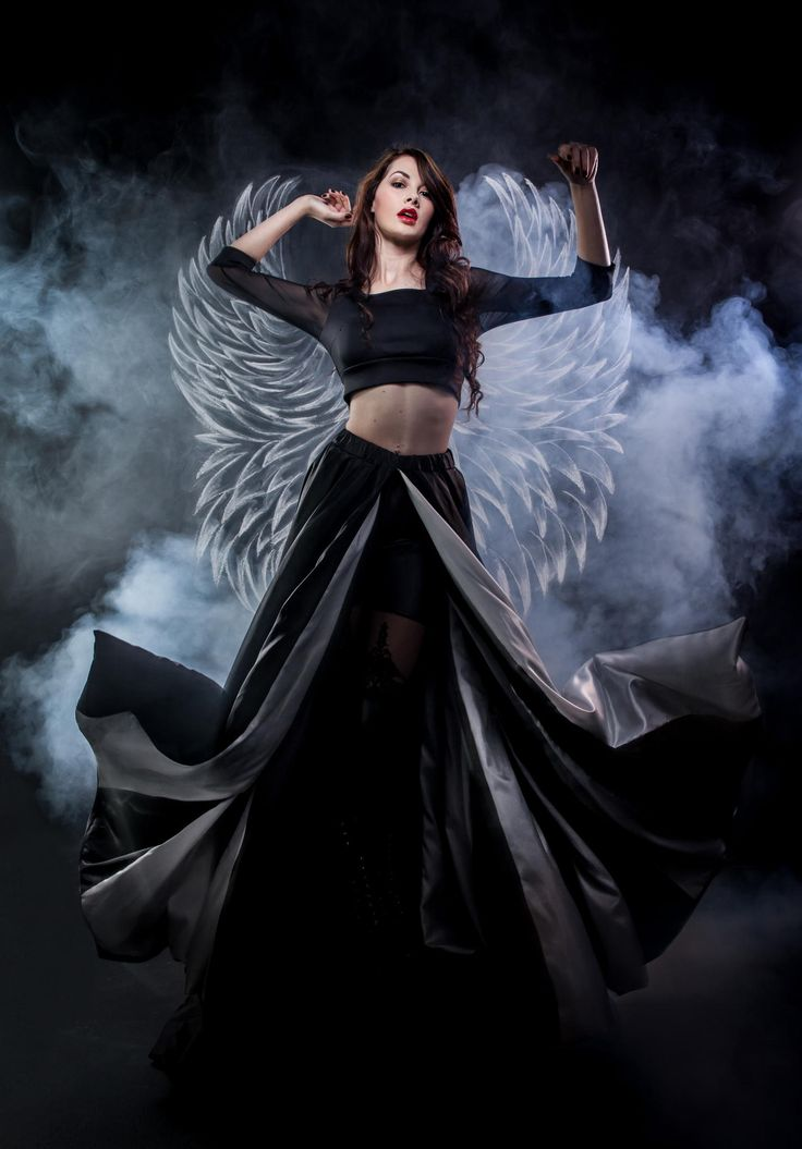 Angel and Smoke ( Dramatic wide shot) by Jaco Bothma on 500px