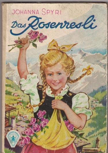 Rosenresli - aus dem Bücherbestand meiner Oma väterlicherseits.
