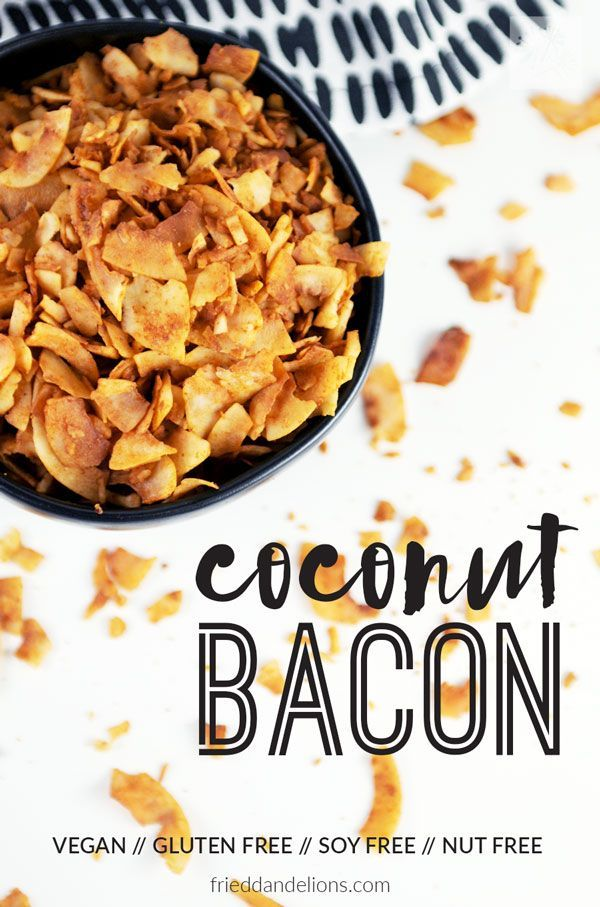 Crispy, salty, sweet, and crunchy— Coconut Bacon is what dreams are made of!  Sprinkle this on everything! via @frieddandelions