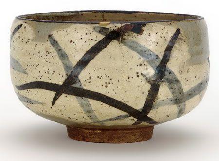 Ogata Kenzan (1663–1743) Tea Bowl with Design of Pampas Grass Japan, Edo period, 1712–31  *Beautiful !