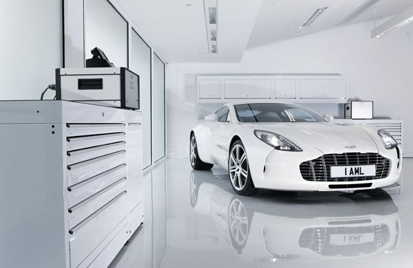 The Exquisite Aston Martin One-77
