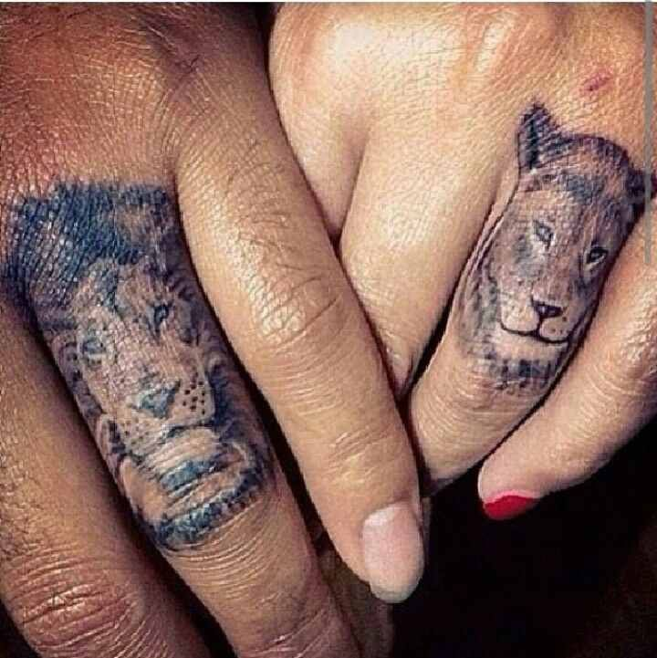 55+ Wedding Ring Tattoo Designs & Meanings - True Commitment (2017)